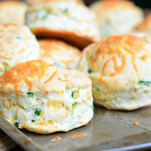 Jalapeno Cheddar Buttermilk Biscuits from willcookforsmiles.com