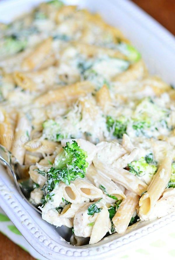 recipe: tuna alfredo with penne pasta [30]