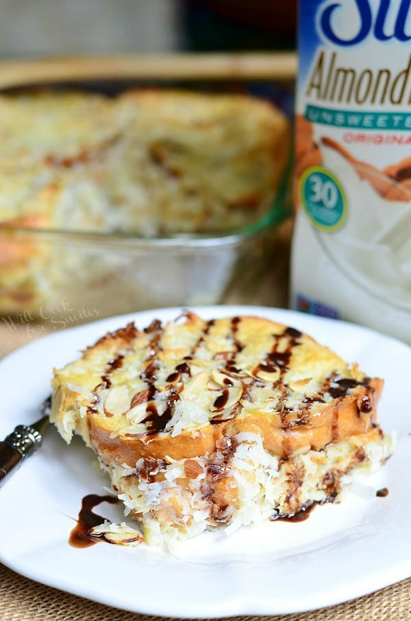 Almond Joy Overnight French Toast Bake - Will Cook For Smiles