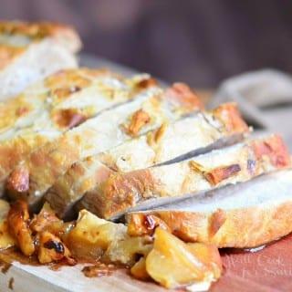 Apple Maple Dijon Pork Roast   Progressive Dinner