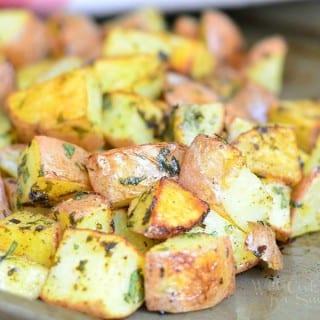 Chipotle Cilantro Lime Roasted Potatoes