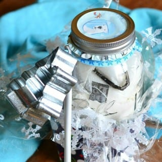 Cookie Mix In A Jar: Earl Grey Tea Shortbread Cookies