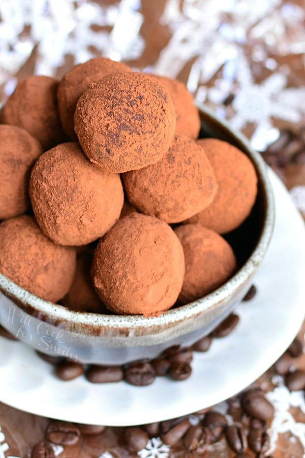 Salted Almond Fudge Truffles - Will Cook For Smiles