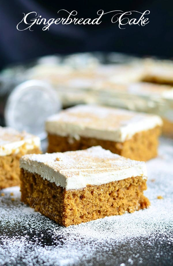 Gingerbread Cake | from willcookforsmiles.com