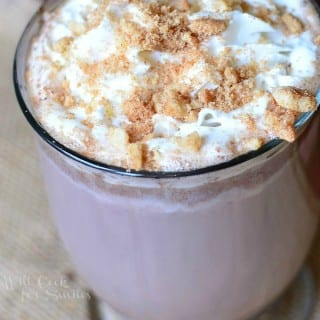 Light Gingerbread Hot Chocolate
