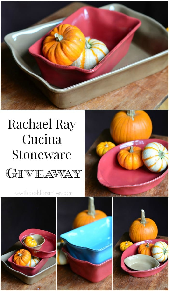 Rachael Ray Cucina Stoneware Giveaway