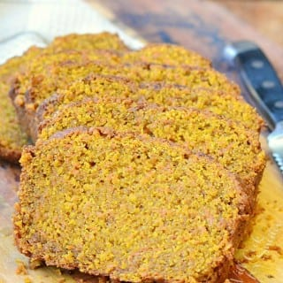 Coconut Oil Carrot Bread