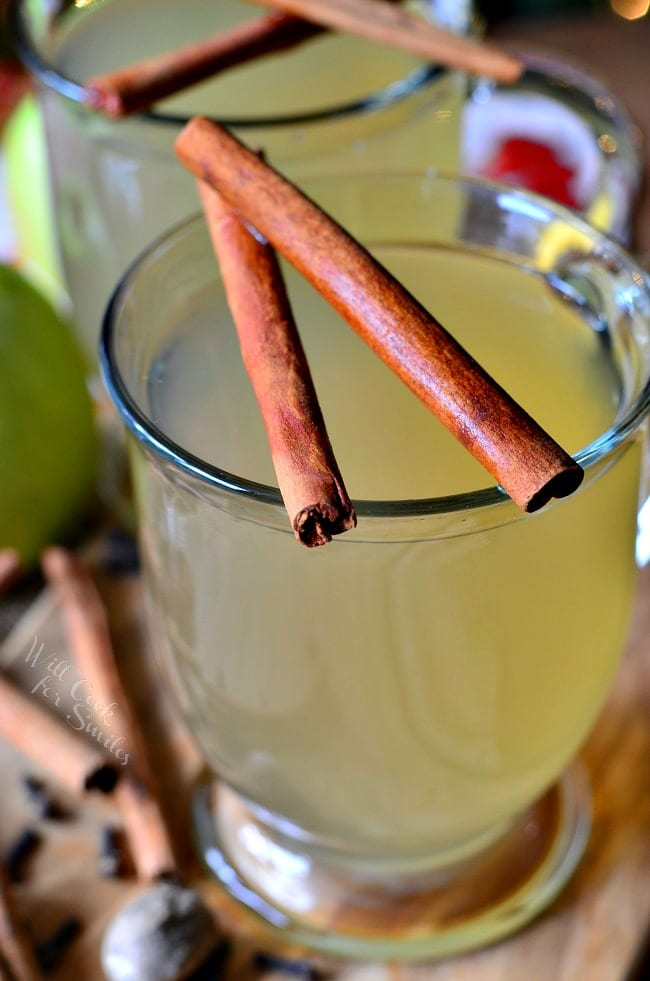 Crock Pot Mulled Green Apple Cider 1