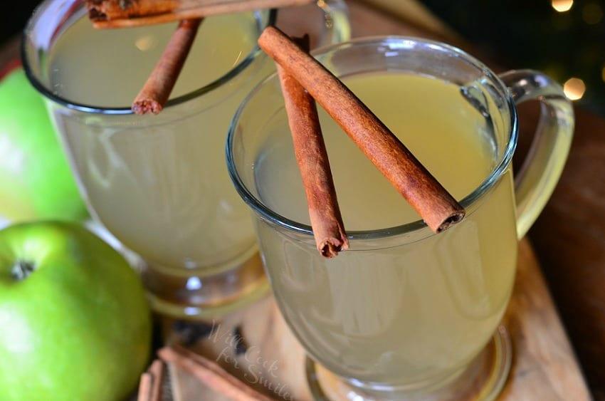 Crock Pot Mulled Green Apple Cider 2