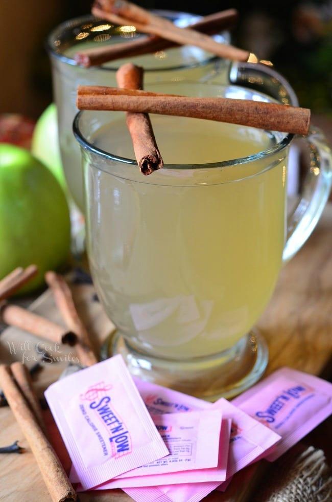 Crock Pot Mulled Green Apple Cider 3