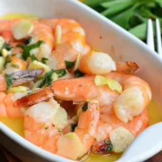 Garlic Sage Butter Shrimp