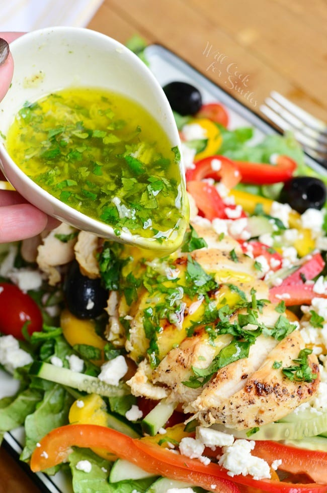 Greek Chicken Salad 3
