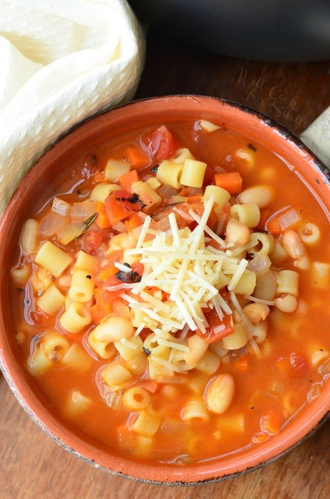 Pasta E Fagioli Soup 1