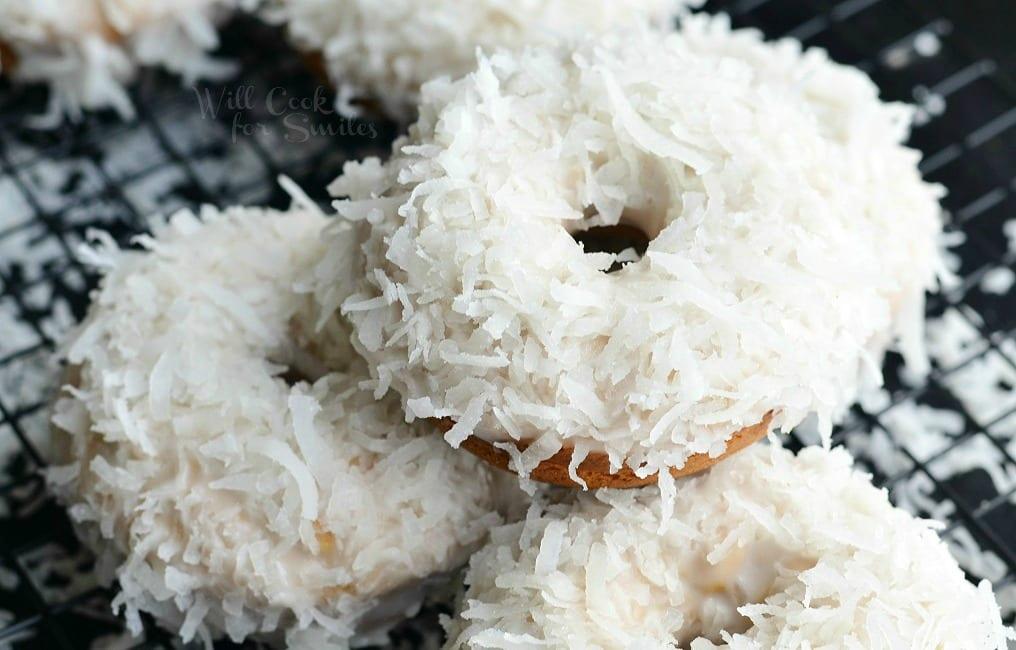 Coconut Flour Cake Doughnuts