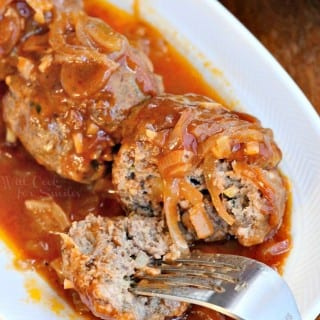 French Onion Baked Meatballs