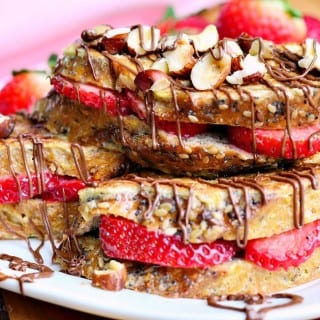 Fruit Filled Hazelnut French Toast