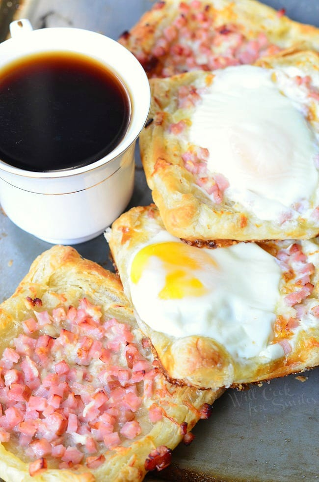 Ham, Egg  Cheese Breakfast PastryWill Cook For Smiles