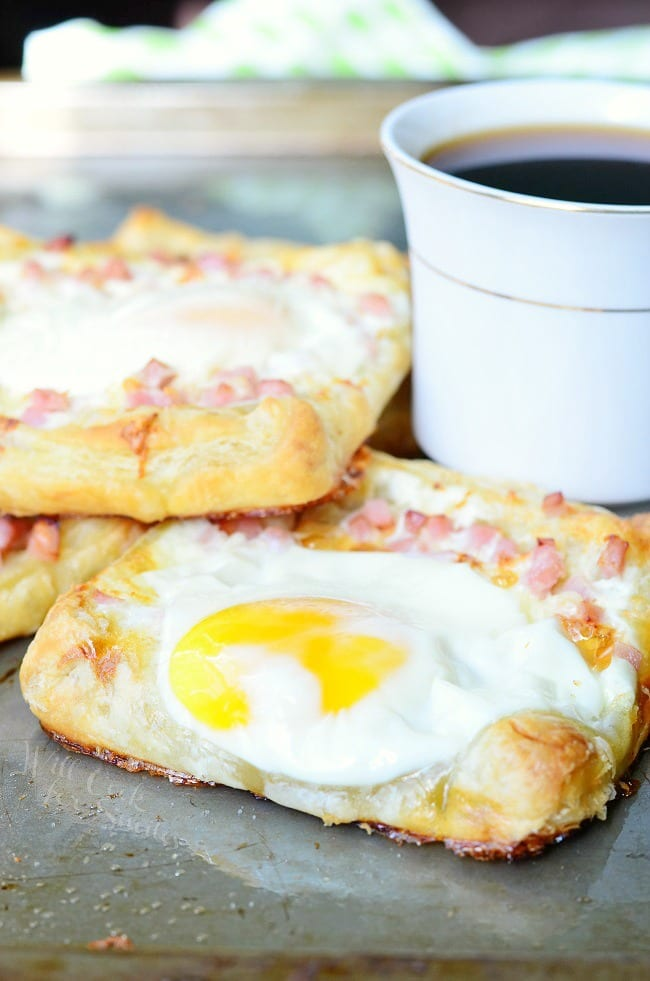 ham egg cheese breakfast pastry will cook for smiles. Black Bedroom Furniture Sets. Home Design Ideas