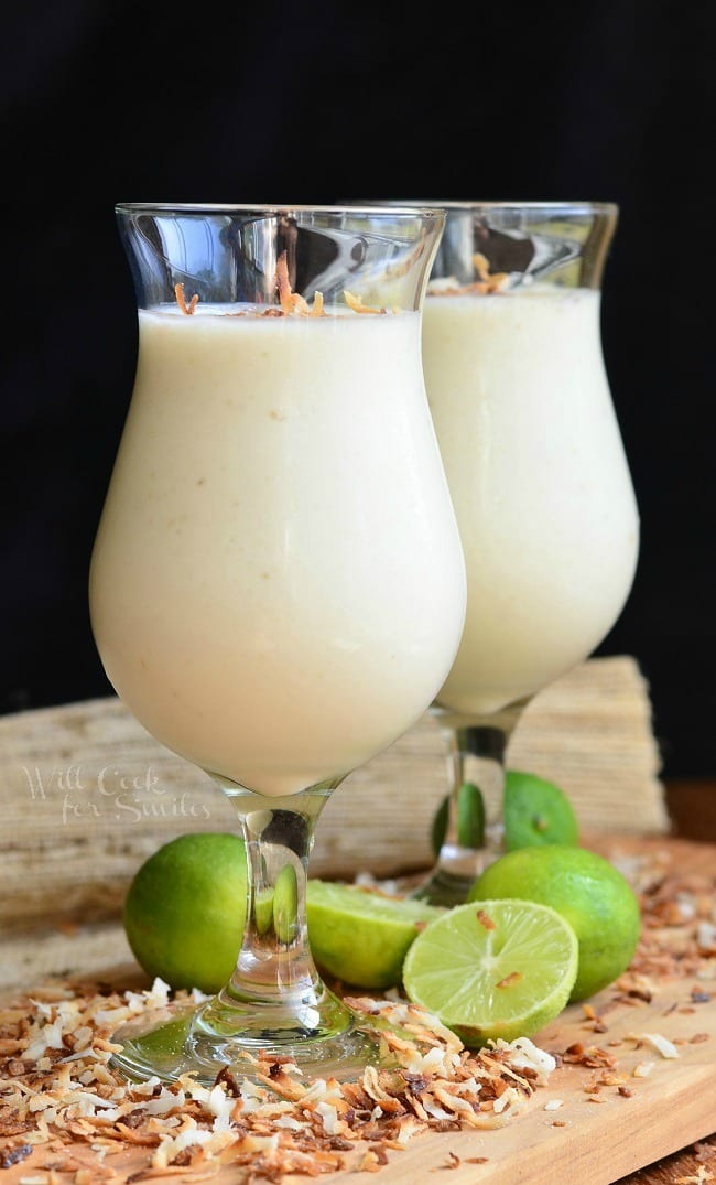 Creamy Tropical Smoothie from willcookforsmiles.com