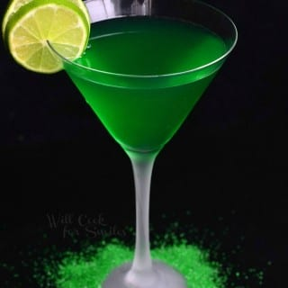 Lime Martini {Green Drink}
