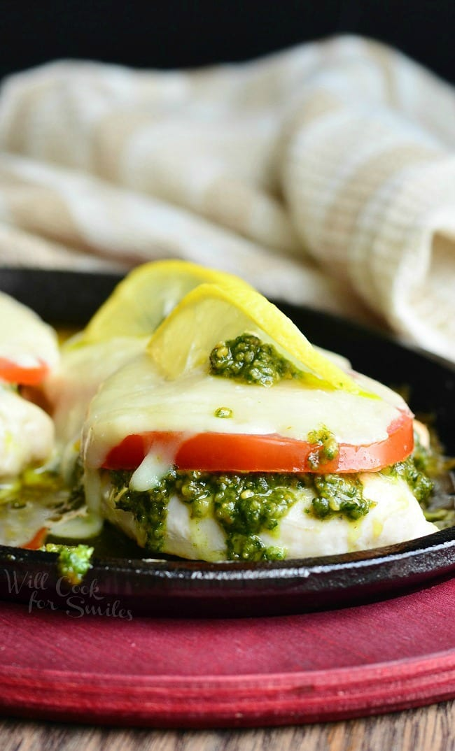 Margherita Chicken Recipe