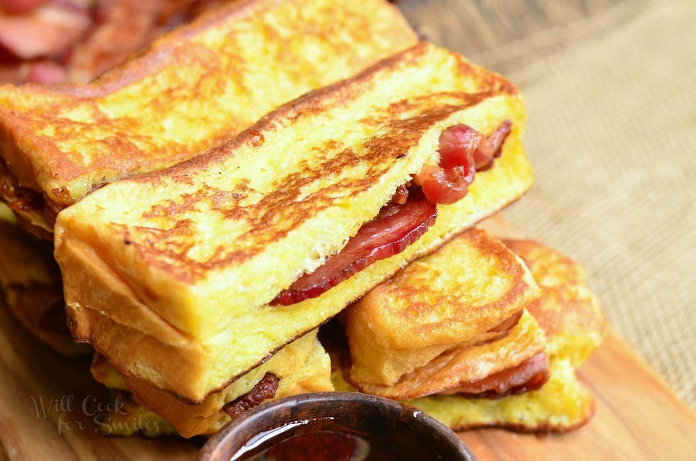 Bacon Stuffed Brioche French Toast Sticks - Will Cook For ...