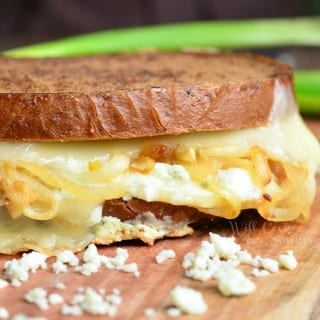 Gruyere and Caramelized Onion Grilled Cheese