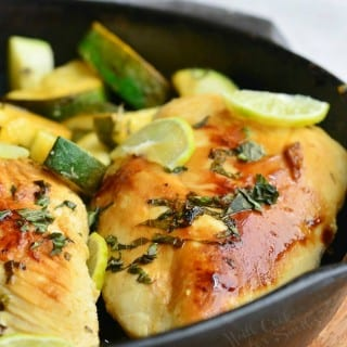 Honey Key Lime Chicken