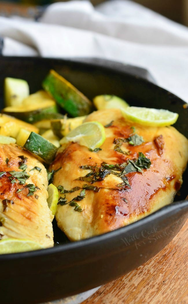 Honey Key Lime Chicken. Simple and finger-licking lime chicken recipe. | from willcookforsmiles.com