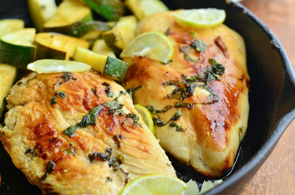 Honey Key Lime Chicken 3 from willcookforsmiles.com
