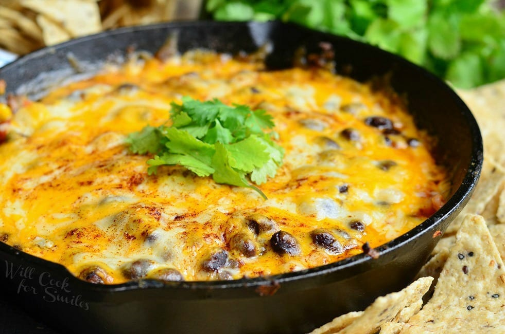 Hot 7 Layer Dip | from willcookforsmiles.com