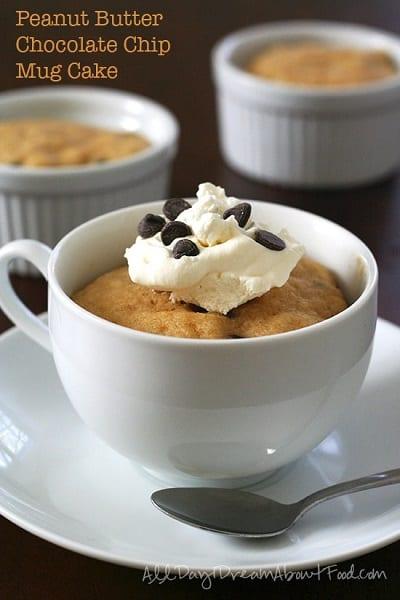Peanut-Butter-Chocolate-Chip-Mug-Cake