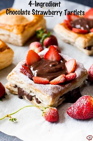 4-Ingredient-Chocolate-Strawberry-Tartlets-1