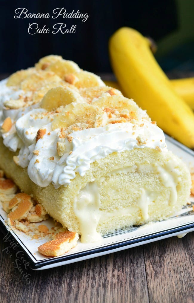 banana pudding wedding cake banana pudding cake roll will cook for smiles 11060