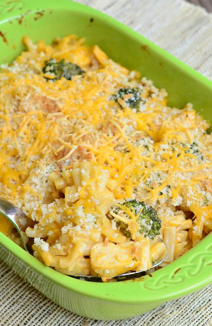Chicken Ranch Macaroni And Cheese Casserole From Willcookforsmiles Com