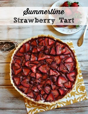 Summertime-Strawberry-Tart-Recipe