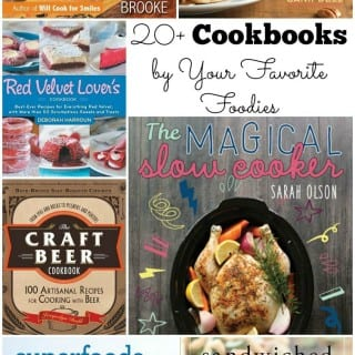 Best Cookbooks from Food Bloggers {My Book Giveaway}