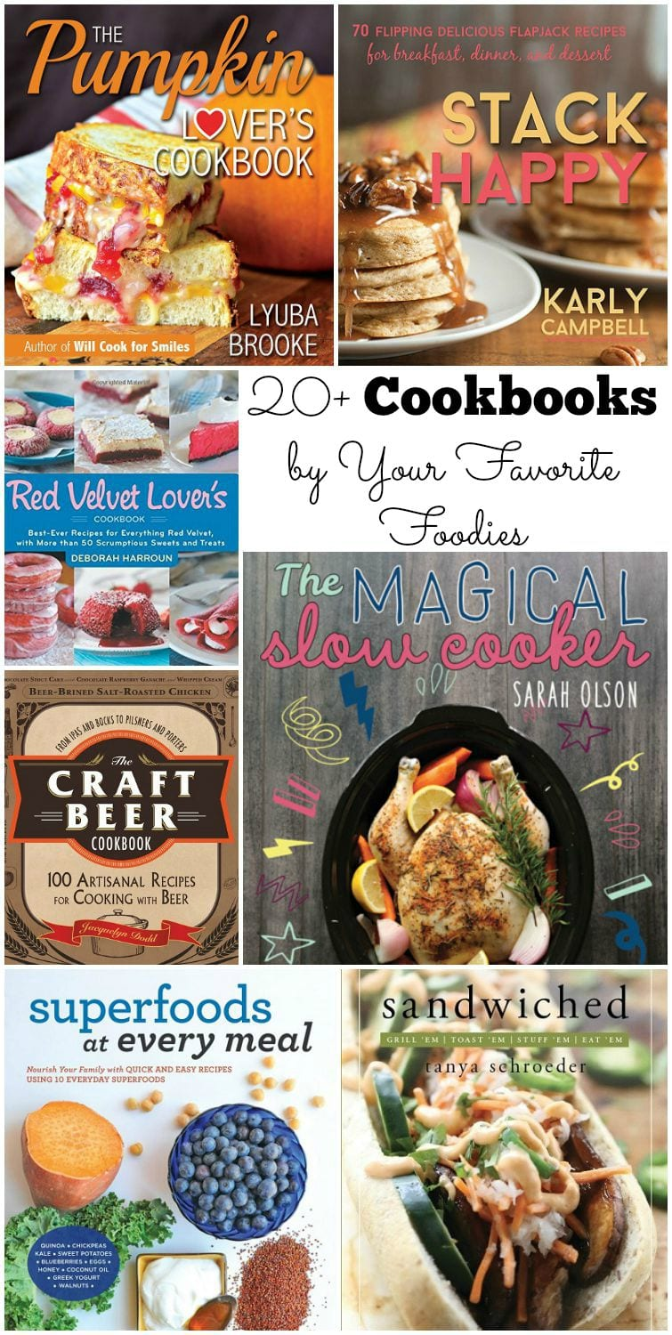 Best Cookbooks From Food Bloggers My Book Giveaway