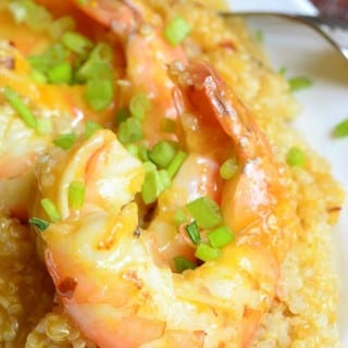 Light Orange Shrimp with Spicy Orange Quinoa