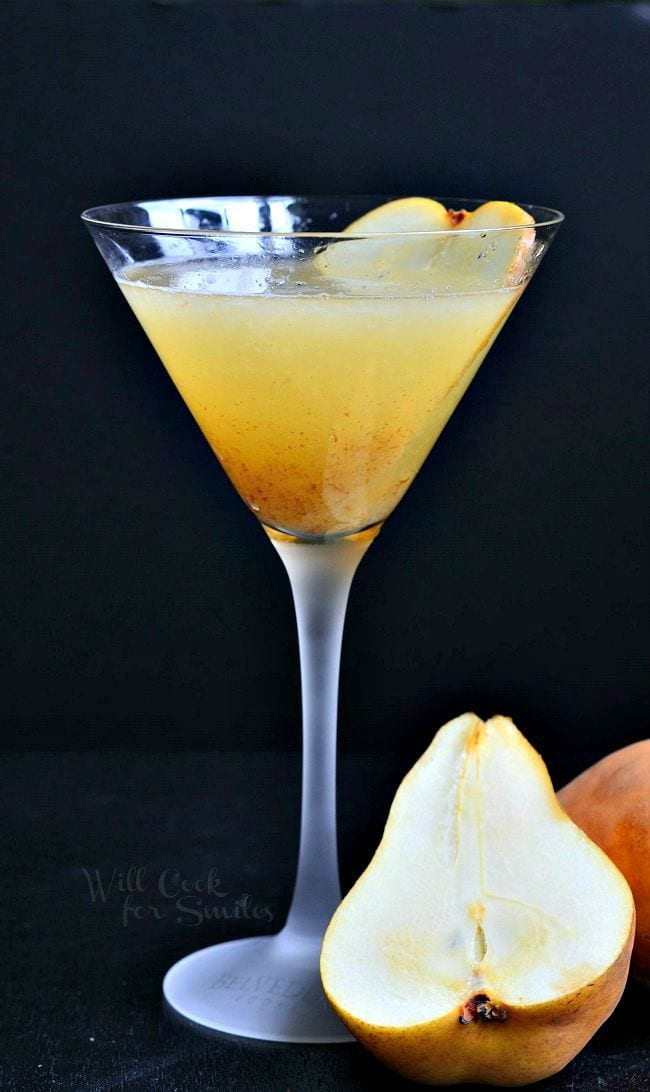 Pear Martini | from willcookforsmiles.com