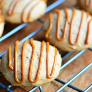 Pumpkin Dulce de Leche Nutella Cookies