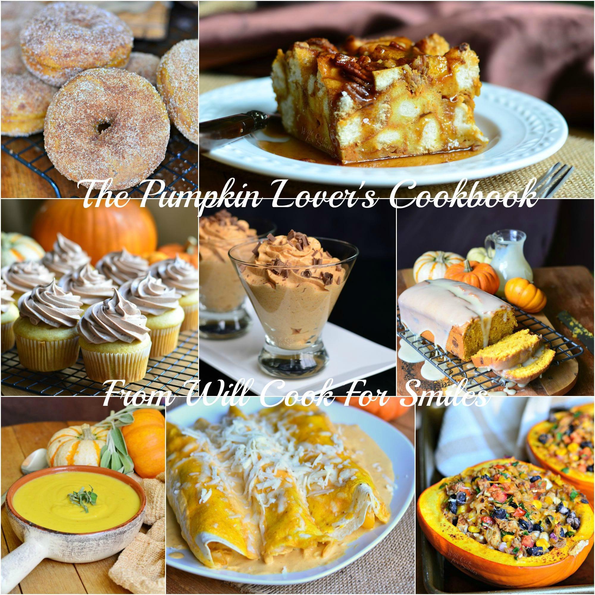 Some Pumpkin Recipes Found in the Pumpkin Lover's Cookbook