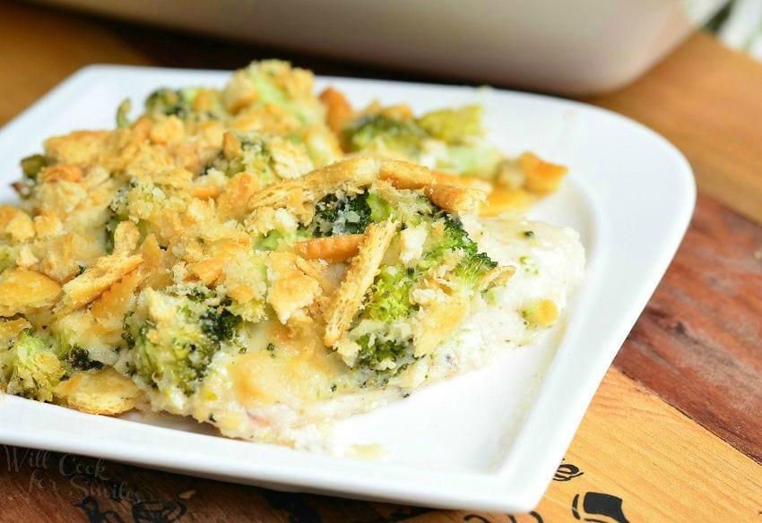 Broccoli Cheese Chicken 4 from willcookforsmiles.com #dinner #easydinner