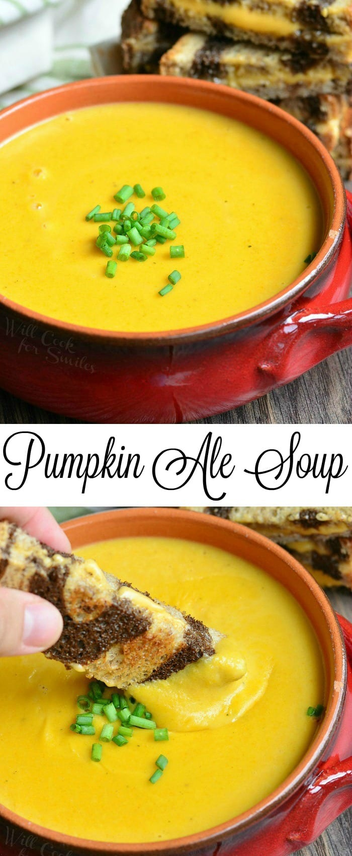 Pumpkin Ale Soup | from willcookforsmiles.com