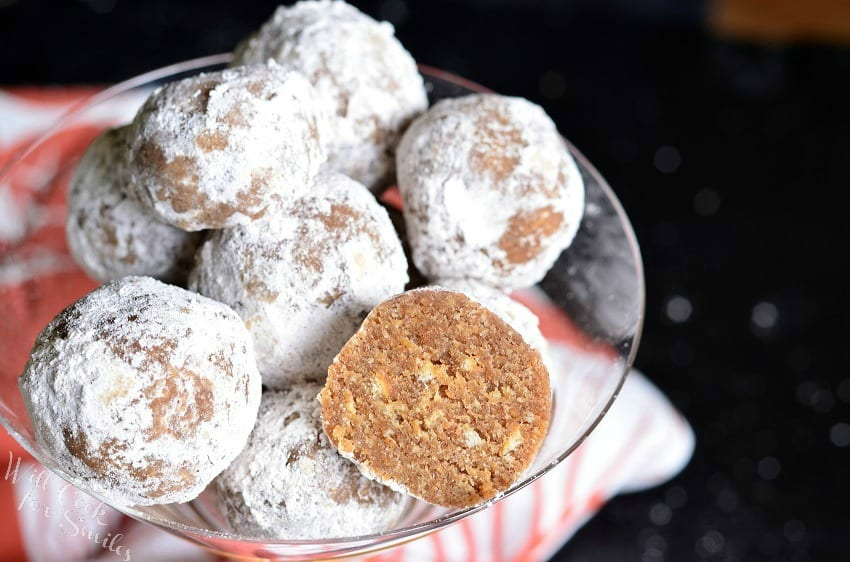 Pumpkin Spice Rum Balls - Will Cook For Smiles