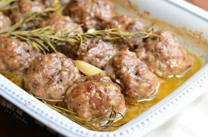 Roasted-Garlic-Rosemary-Baked-Meatballs-4-from-willcookforsmiles.com_