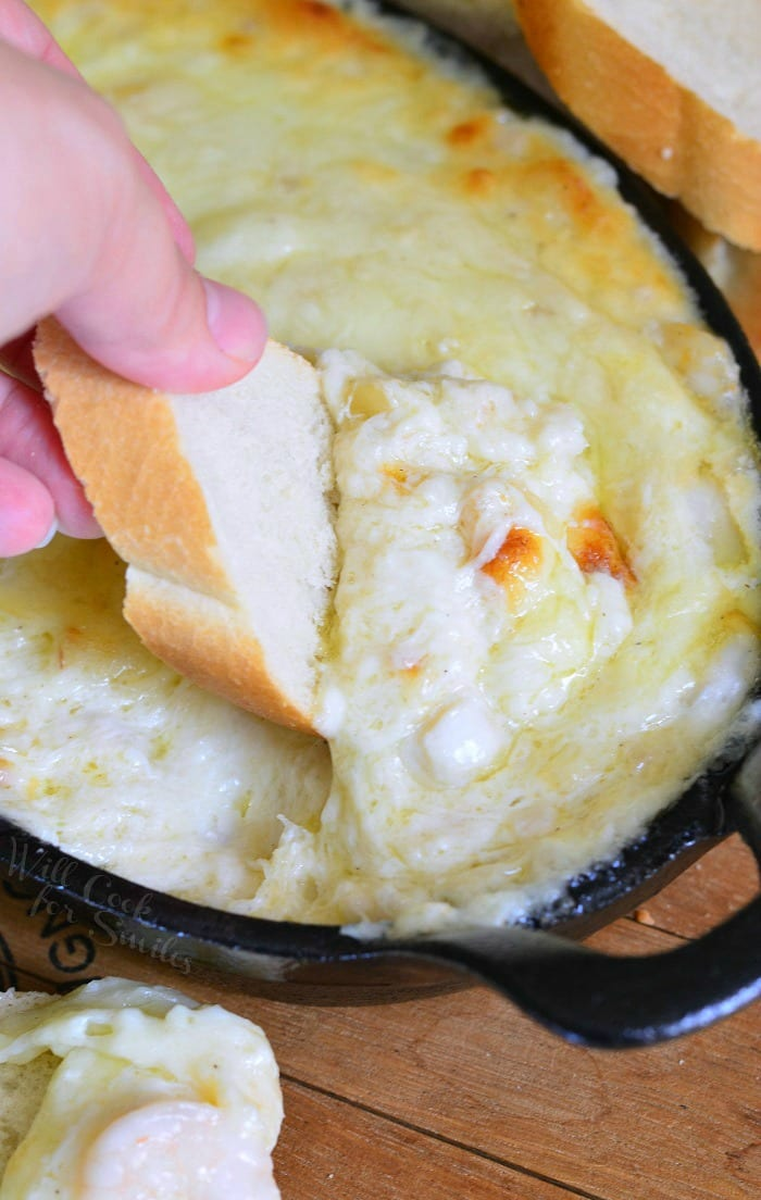 Seafood & Cheese Dip | from willcookforsmiles.com