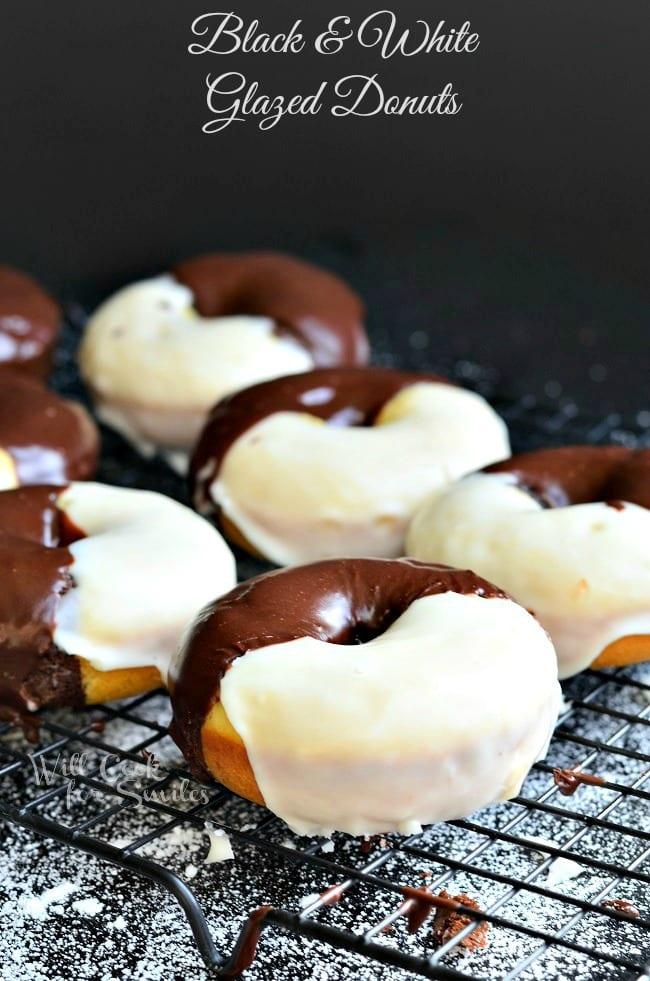 Black-White-Glazed-Donuts-1-from-willcookforsmiles.com_