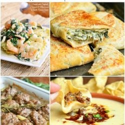8 picture collage of the top recipes for will cook for smiles