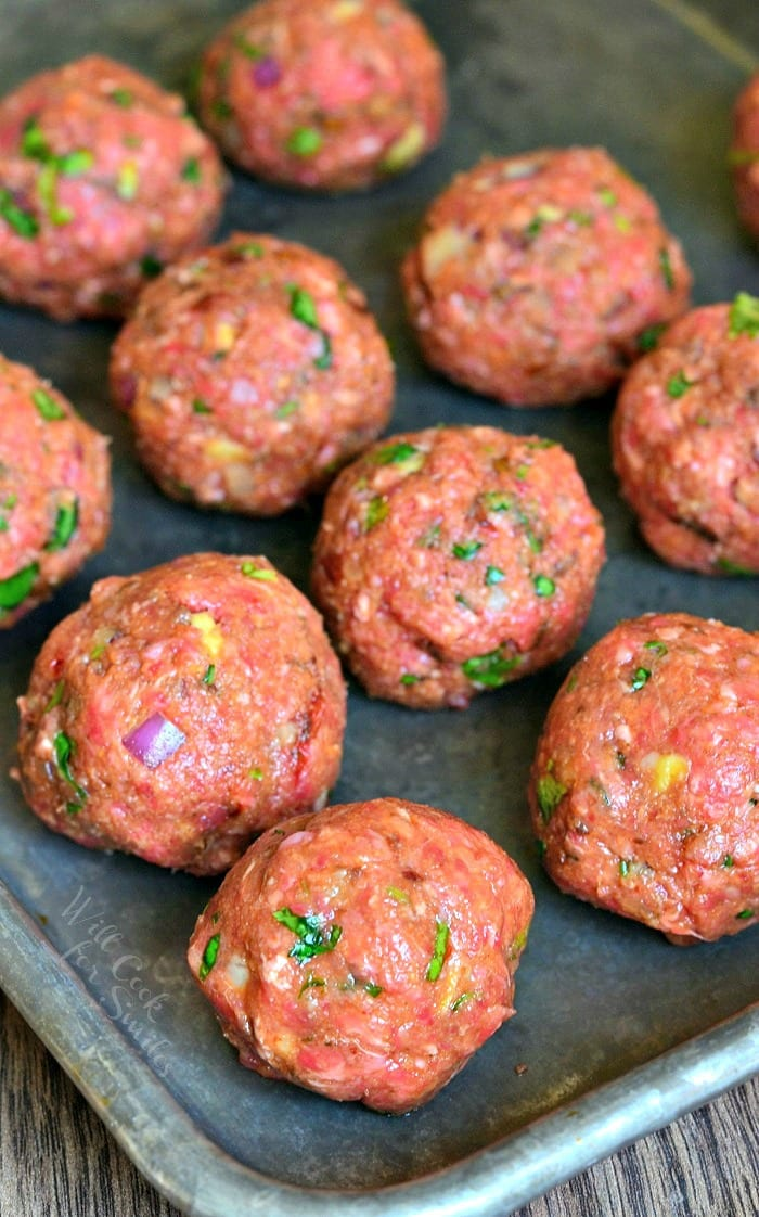 Mexican Meatballs | from willcookforsmiles.com